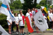 Aleksandrów uczestniczył w V Sztafecie Niepodległości